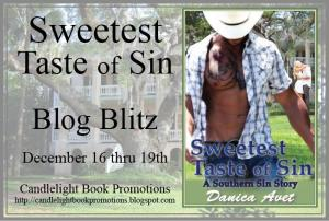 sweetest taste of sin banner